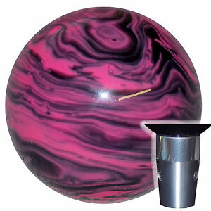 Marbled Black Pink Non Threaded Shift Knob Kit U S Made