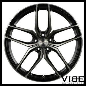 19 Stance Sf03 19x8 5 Black Forged Concave Wheels Rims Fits Audi B7 A4