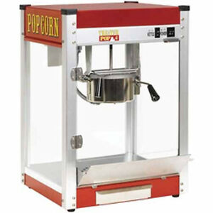 New Paragon Theater Pop 4 Ounce Popcorn Popper Machine Made In The Usa