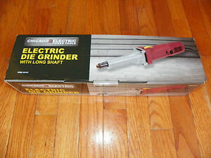 Long Shaft Electric Die Grinder For Gringing Auto Parts Includes Arbor Wrenches