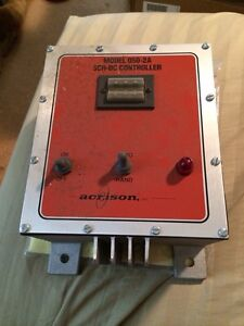 Acrison 050 1a Scr dc Control Controller Works Great