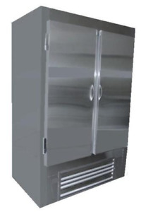Cooltech Stainless Steel 2 doors Reach in Upright Freezer 54