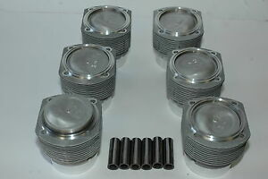 Porsche 911 Engine 2 7 Cis Mahle Pistons Cylinders 91110394901
