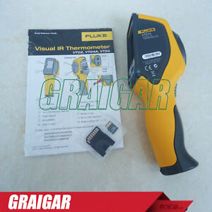 New Fluke Vt04a Visual Ir Thermometer Infrared Thermometer With Thermal Imager