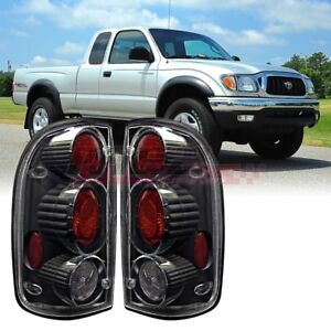 Winjet Oe Factory Fit For 2001 2004 Toyota Tacoma Brake Tail Lights Black Clear