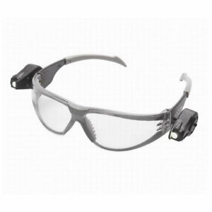3m Case Of Ten Light Vision Safety Glasses With Dual Led Lights Case Of 10