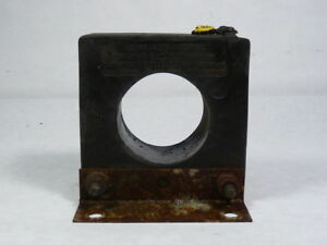 General Electric 631x33 Jch o Current Transformer Ratio 800 5a Used