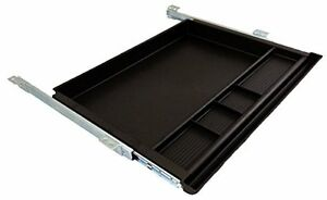 Pencil Drawer By Nycco 23 Inch Underdesk Drawer Ball Bearing Slides Black