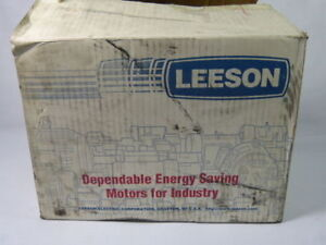 Leeson C6t11fb1e 110214 00 Electric Motor 1 2hp 1140rpm 575v New