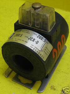 General Electric Type Jcr 0 750x34g52 Ratio 200 5 A Current Transformer Ge Ct O