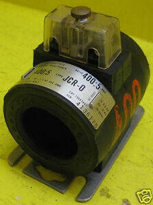 General Electric Type Jcw 0 750x32g202 Ratio 400 5 A Current Transformer Ge Ct O