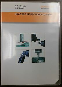 Renishaw Inspection Plus Software For Haas Machining Centers A 4012 0880
