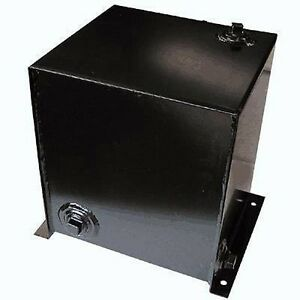 Hydraulic Tank 15 Gallon Side Mount Level Temperature Gauge Commercial