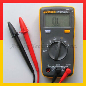 Fluke 106 F106 Palm sized Digital Multimeter F15b Smaller Version Usa Seller