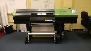 Roland Lec 330 30 Uv Printer cutter 6 Color