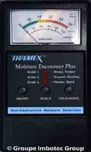 Tramex Mep Moisture Encounter Plus Non invasive Moisture Meter New