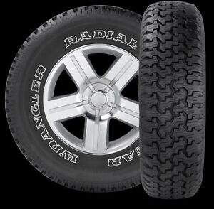 P235 75r15 Goodyear Wrangler Radial Owl New Tires