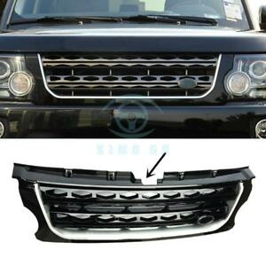 For Land Rover Discovery Lr4 2014 16 Black Main Body Front Grille Replace Trim