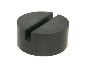 Medium Universal Rubber Slotted Floor Jack Pad Frame Rail Adapter Pinch Puck