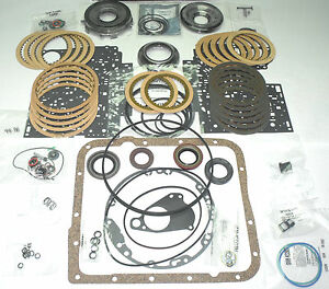 Gm 4l60e 4l65e Rebuild Kit W Molded Rubber Pistons Clutch Pack 2004 2013