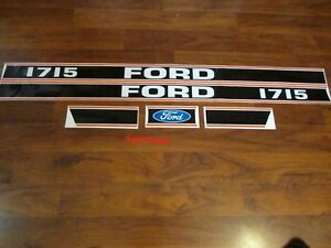 Ford Tractor Decal Set 1715 Stickers 1115 1568