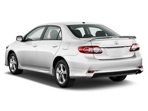 Rear Spoiler With Led Light For All New Toyota Corolla Altis 2008 2013