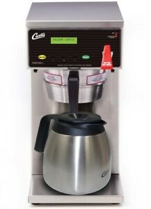 Curtis D60gt63a000 Thermal Carafe Coffee Maker Dual Voltage new