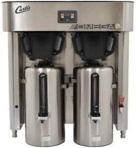 Curtis G4 Omega Omgt10 High volume Twin 3 0 Gallon Coffee Brewer new