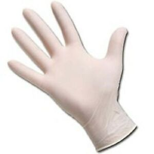 Positive Touch Latex Gloves Powder Free Full Case 10 Boxes Of 100