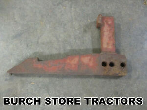 Rare Oliver Super 44 Offset Tractor With Front Cultivators And Factory Toolbar