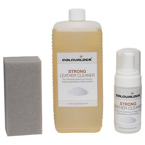 Colourlock Strong Leather Cleaner For Cleaning Car Seats Furniture Bags