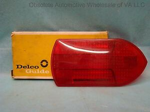 Delco 5941749 Tail Light Lamp Lens Nos Fire Truck Equipment Ihc Apparatus 1953 U