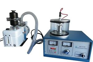 Plasma Sputtering Coater incl Gold Target Two year Warranty W o Vacuum Pump
