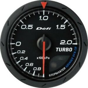 Defi Advance Gauge Cr 60 Turbo 200kpa Black