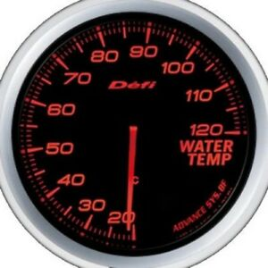 Defi Advance Gauge Bf 60 Water Temp Red