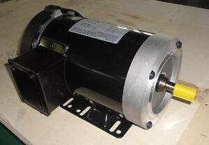Cem Rolled Steel Ac Motor 2hp 1800rpm 56c Removable Feet 3phase Fan cool Tefc
