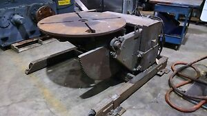 As Is Ransome Welding Positioner Model 30 p 3000 Lb
