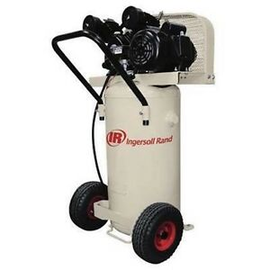 Air Compressor Commercial 20 Gallon 2 Horsepower Hp 110 115 Volts