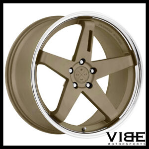 20 Blaque Diamond Bd21 Bronze Concave Wheels Rims Fits Jaguar Xkr