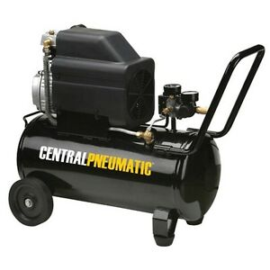New 2 Hp 8 Gal 125 Psi Portable Oil Lube Portable Air Compressor Free Shipping