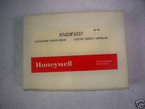 Honeywell R7420f1037 Electric Humidity Controller New