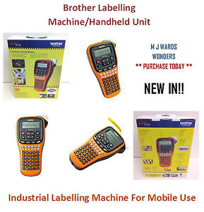 P touch E100 Brother Labelling Machine handheld Unit Pte100g1p