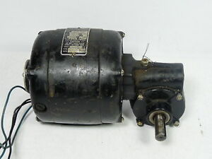 Bodine Electric 1 15hp 2400rpm 44lbs in 60 1 Ratio Used