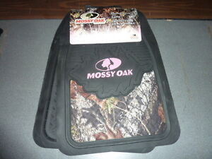 New Mossy Oak Pink For Her Camo 2 Piece Front Floor Mats Matts Mat