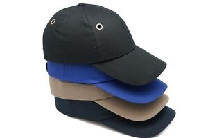 Bump Cap W Insert Vented Safety Hard Hat Head Protection Baseball Mechanic