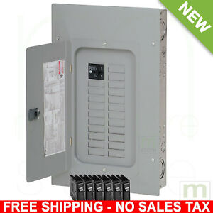 100 Amp Breaker Panel Electrical Circuit Board 40 circuit 20 space Load Center