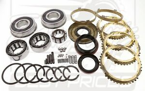 Jeep Nv3550 5sp Late Design Transmission Rebuild Kit Jeep 2000 01 33mm C S Brgs