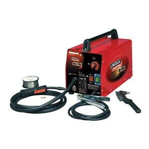 Weld Pack Hd Feed Mild Steel Gasless Flux Core Wire Welder 115v Portable Machine