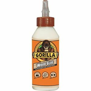 case Of 12 8oz Gorilla Wood Glue Strongest Glue adhesive In The Jungle
