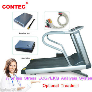 Contec8000s Wireless Stress Ecg ekg Analysis System Exercise Stress Ecg Test